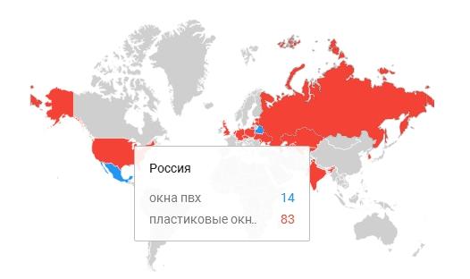 """В России популярнее """"пластиковые окна"""""""